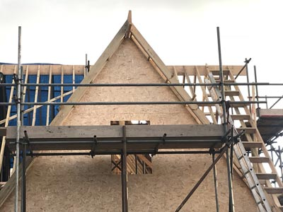 New roof Lee—on—the Solent