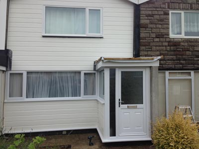 New UPVc Porch Gosport